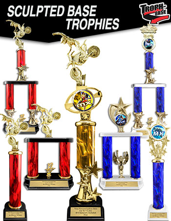 PACK OF 10 TROPHY AWARD 25 or 50 MOTOCROSS 2020 ACRYLIC 70mm MEDAL /& RIBBON